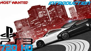 Need for Speed Most Wanted 2012 (PS3) - Introduction