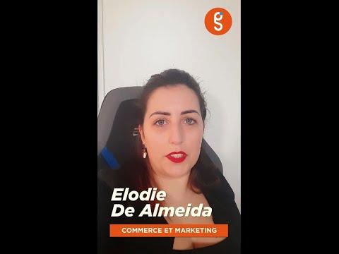 Découvrez Elodie, étudiante en commerce et marketing au sein de Génération Saint-Gobain.
