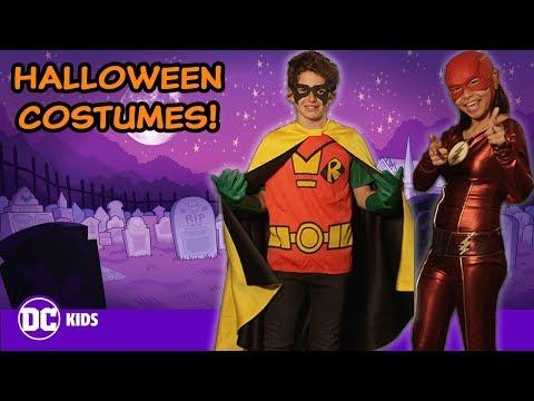 DC Super Hero Halloween Costumes! | DC KIDS SHOW