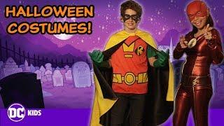 DC Super Hero Halloween Costumes!   DC KIDS SHOW