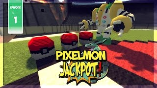 3 ULTRA LUCKY BLOCKS + 3 LÉGENDAIRES | PIXELMON JACKPOT #1 - Minecraft Moddé Pokémon