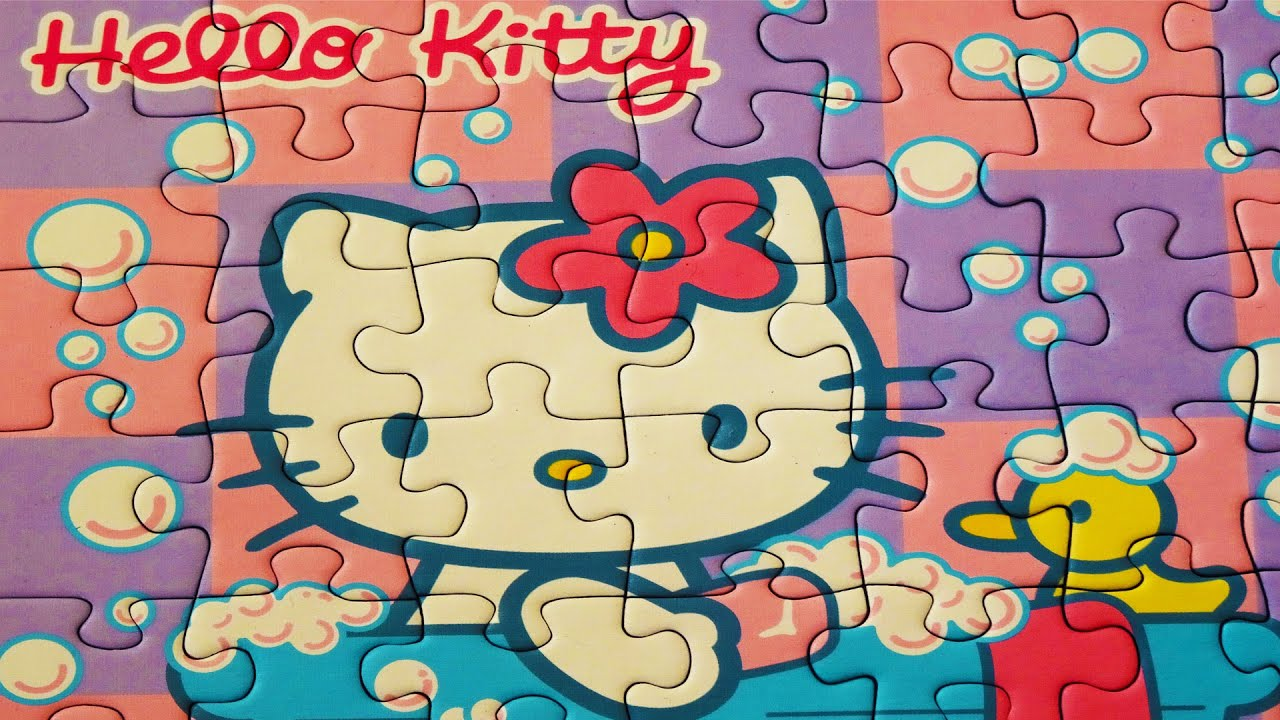 Uncategorized Games Puzzle Hello Kitty hello kitty puzzle games ravensburger rompecabezas play jigsaw puzzles learning kids toys yapboz