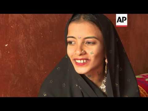 "ONLY ON AP Pakistan girl ""enslaved for debt"""