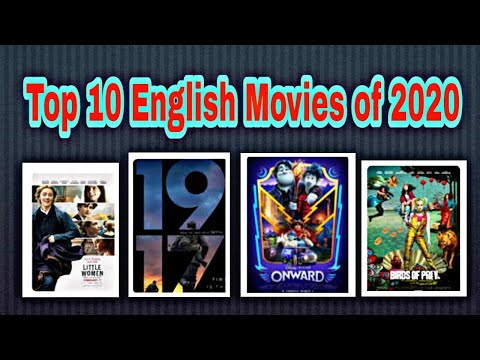 Top10 English Movies of 2020
