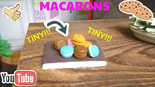 DIY miniature macorons | Polymer Clay | Crafting Queen