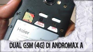 UNLOCK Dual GSM 4G di Andromax A