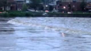Delaware River In Easton, PA