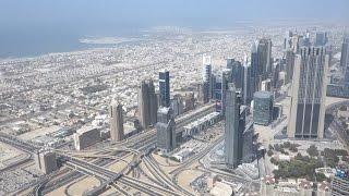 ブルジュ・ハリファAT THE TOPからの眺め|Burj Khalifa