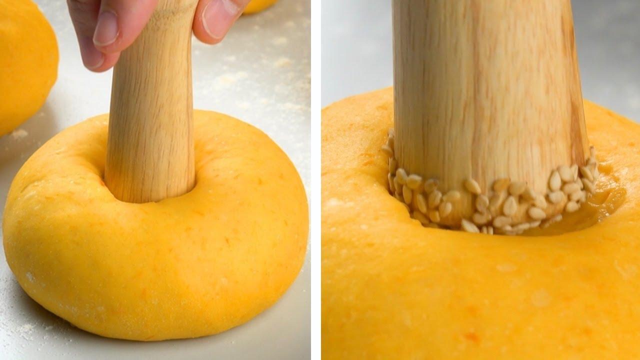Готовим самое воздушное блюдо из тыквы. Эти булочки - просто чудо!