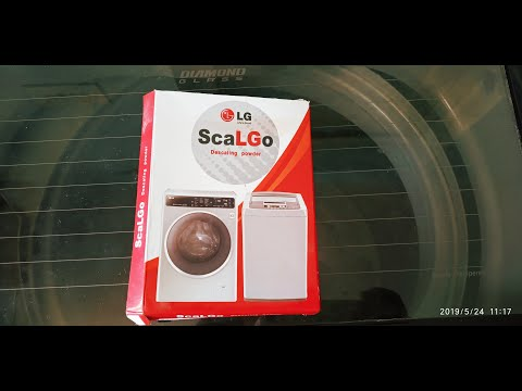 LG washing machine tub cleaning | Tub clean process using  scaLGo powder