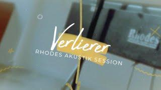 LUNA - Verlierer (Rhodes Akustik Session - Lyric Video)