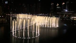 Dubai Fountain Show : Whitney Houston - I will always love you [HD]