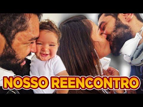 CHOREI MUITO ME REENCONTRANDO COM O NOAH E A BRUNA!!!