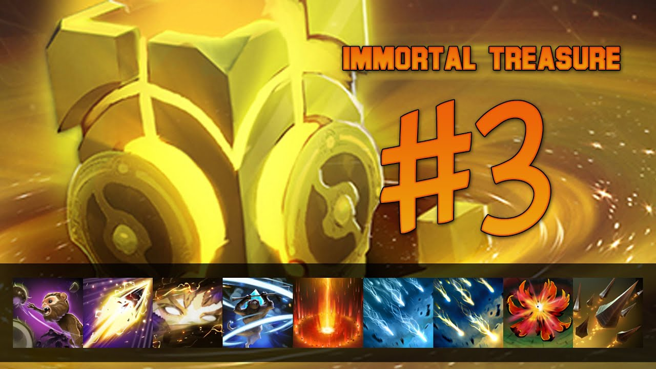 Dota 2 S Immortal Treasure 3 Launches: Dota 2 Immortal Spotlight