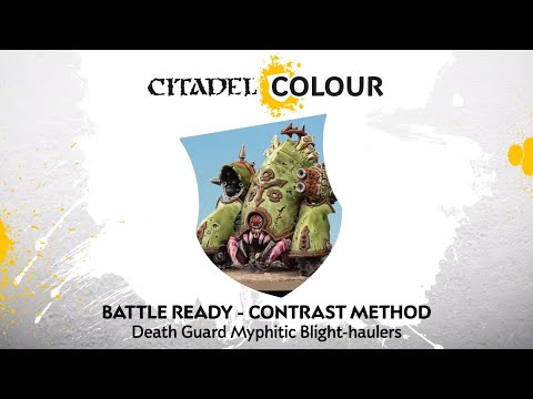 How to Paint: Death Guard Myphitic Blight-haulers – Contrast Method
