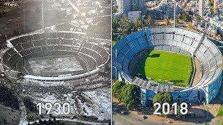 FIFA World Cup Finals Stadiums Then & Now