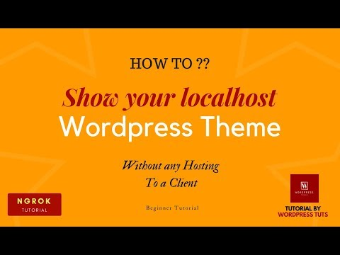 ngrok tutorial -Access your localhost Wordpress theme from anywhere of the  world without hosting