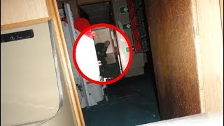 This Man Couldn't Believe What He Captured Inside An Old Military Vessel