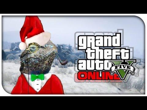 GTA 5 Online - Lizard Squad Attacks & Christmas Snow! (Squadcast #42) [GTA V]