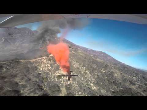 USFS Next Gen Airtanker N130FF Wheeler Incident Drop
