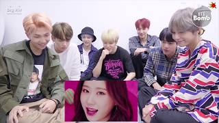 BTS Reacts to ITZY DALLA DALLA MV
