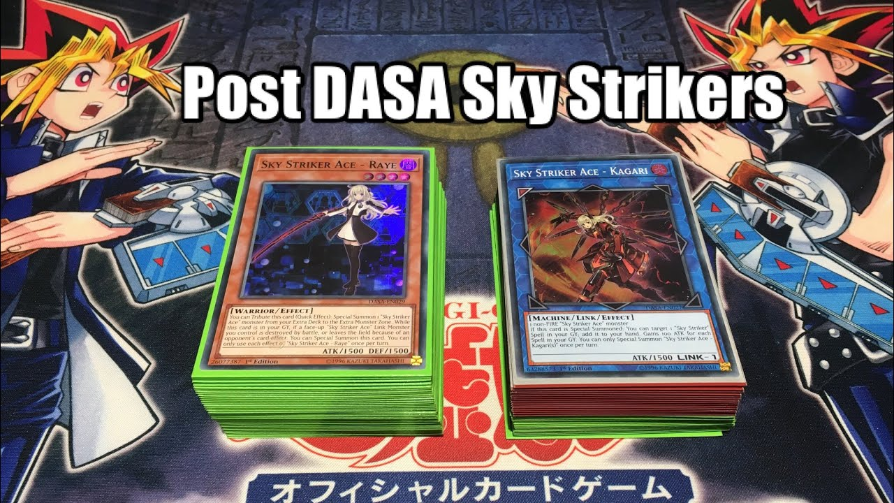 Dasa English Yugioh Sky Striker Ace Kagari Dark Saviors Eastcountytoday Net