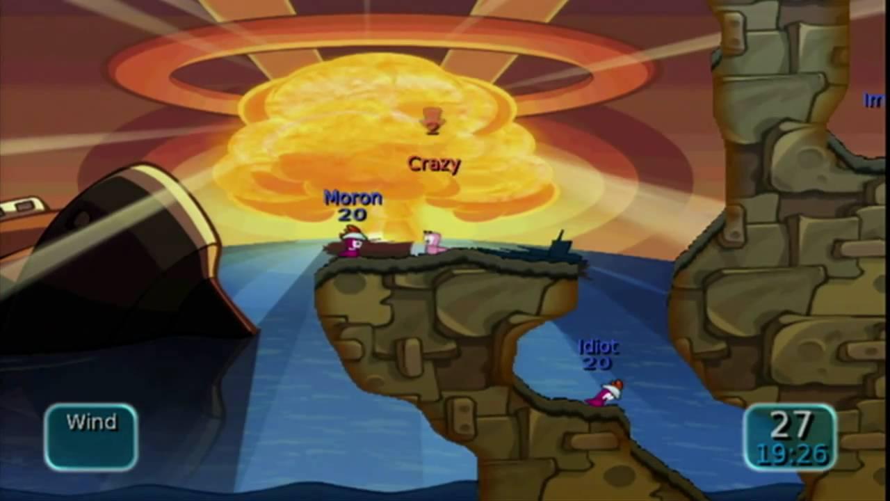 Worms Battle Islands Psp