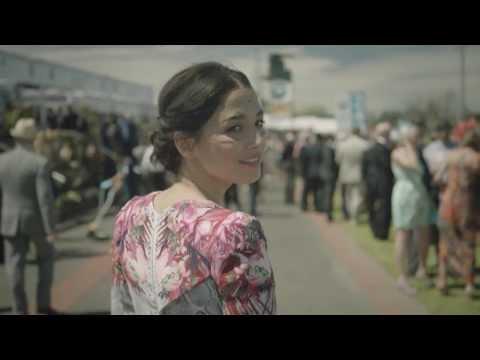 Jessica Gomes in a David Jones Spring Racing Fashion Film
