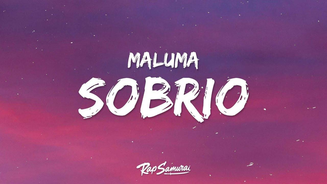 Maluma - Sobrio (Letra / Lyrics)