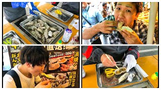OYSTER mania in japan - 皆んなの大好きな カキ かき牡蠣