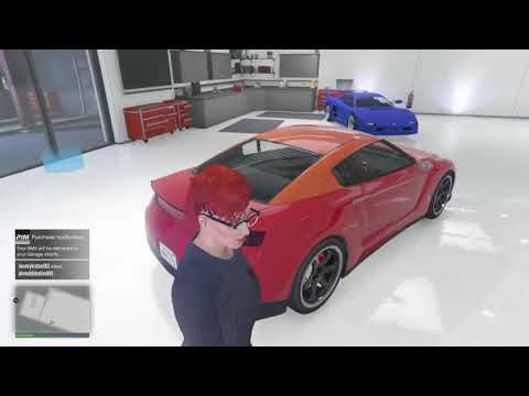 How to change the color on your bmx gta5 online glitch
