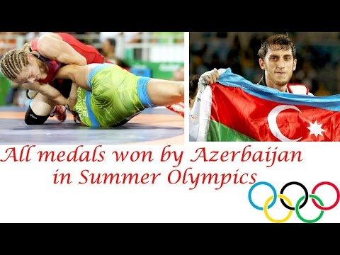 Olympic Games : Azerbaijan All medals in Summer Olympic - Rio 2016