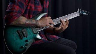 ESP Guitars: LTD Deluxe H3-1000 Demo by Vahan Aslanyan