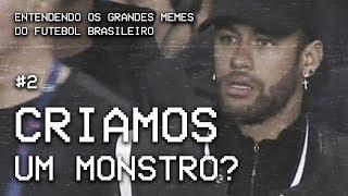 Em 10 anos, Neymar se tornou um monstro? | Grandes Memes do Futebol Brasileiro