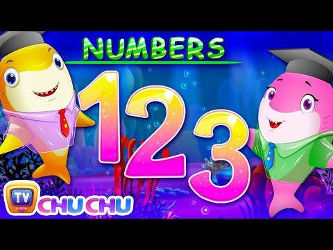 Baby Shark Numbers Song | Learn Numbers with Baby Sharks | Nursery Rhymes & Kids Songs by ChuChu TV