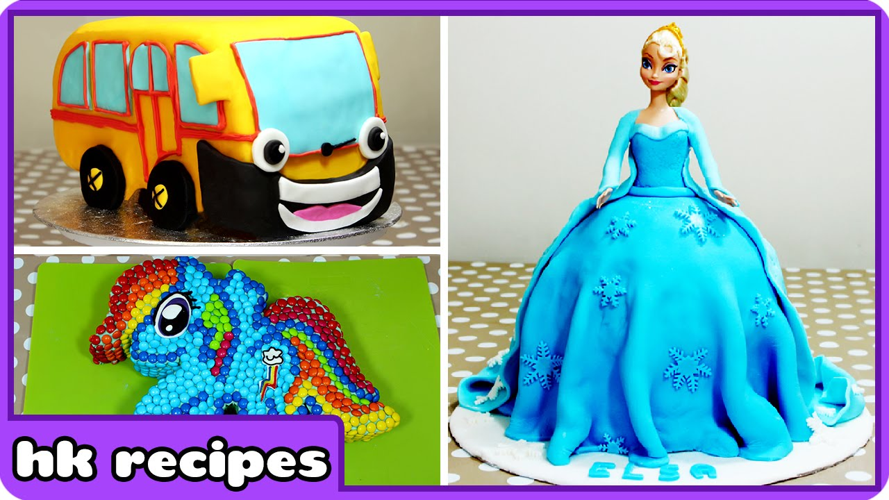 Delicious Cartoon Character Cakes So Good Youll Wish You Had Baked