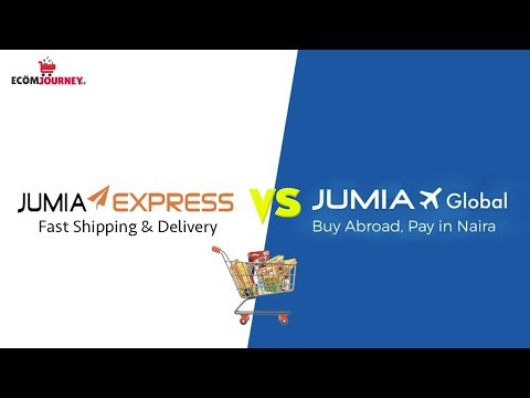 Difference Between Jumia Express and Jumia Global - As a Seller and Buyer on Jumia
