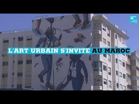 L'art urbain s'invite au Maroc