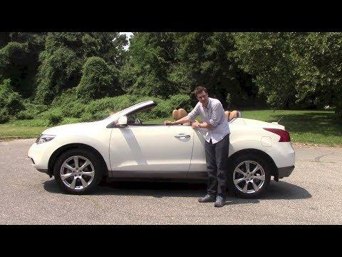 Nissan Murano CrossCabriolet: Обзор