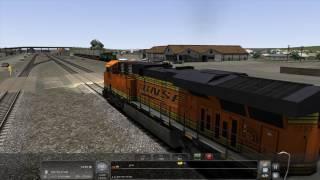 Train Simulator 2017 - [BNSF ES44 DC] Return to Whitefish Pt.1 - 4K UHD