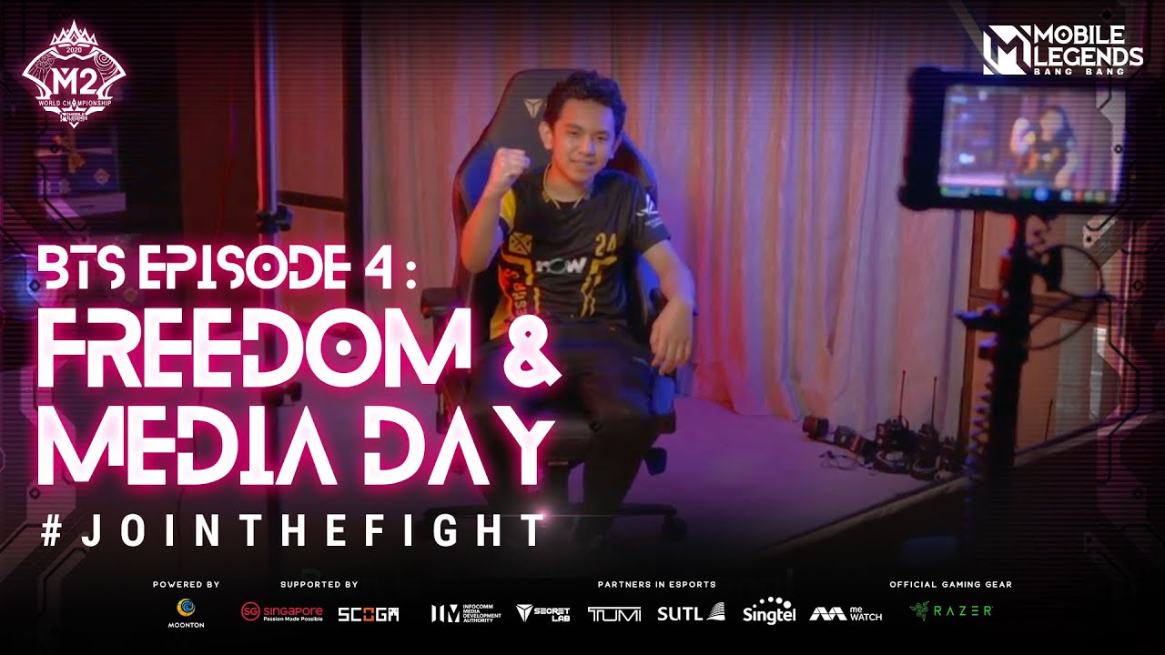 M2 TOURNAMENT MONTH | Behind The Scene | Episode 4: Freedom & Media Day