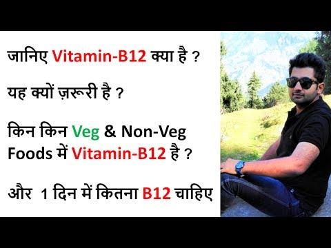 Vitamin B12 Functions in our body | Vitamin B12 Source, Supplements - विटामिन बी-12 कैसे बढ़ाए
