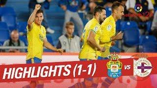Resumen de UD Las Palmas vs RC Deportivo (1-1)
