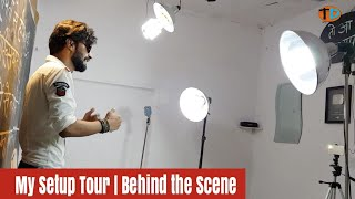 My Setup Tour | Behind the Scenes | My Room,Mic, Stand,Light | Technical Dost