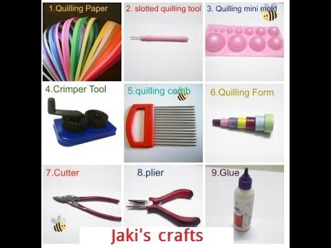 Paper craft tools that  you must have