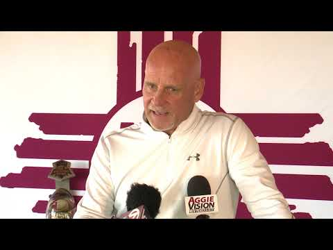 NMSU Football Signing Press Conference  02.09.2018