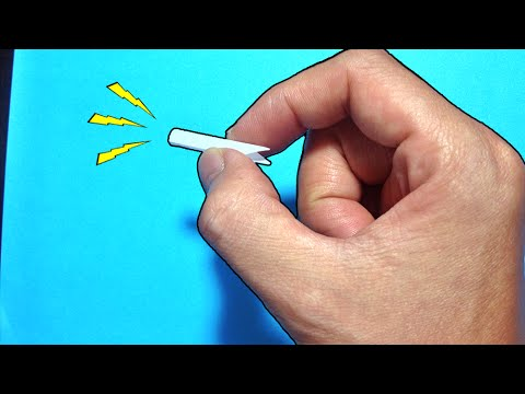 The straw trick - How to make a whistle straw - Easy and simple
