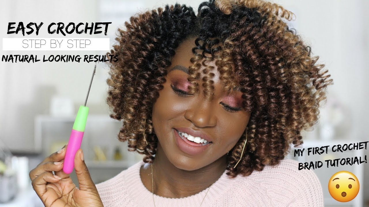 Natural Looking Crochet Braid Style Curlkalon Saniya
