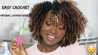 Natural Looking Crochet Braid Style | Curlkalon Saniya Curl