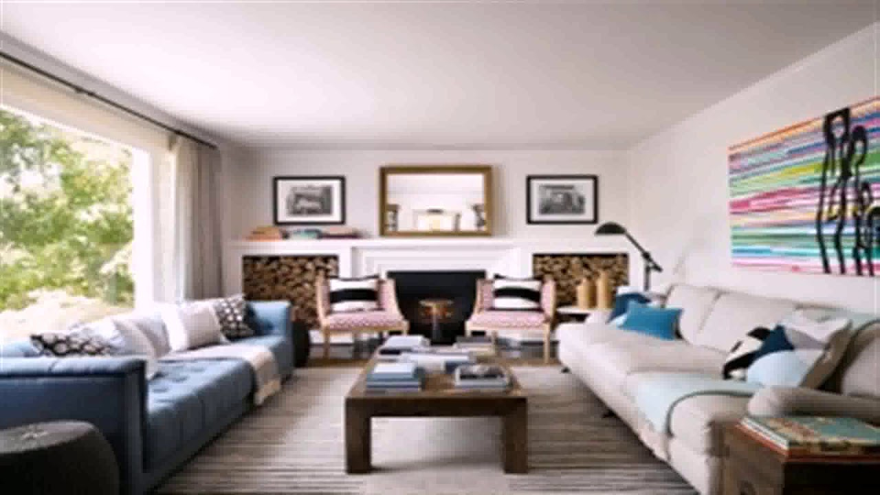living room layout 2 sofas - youtube